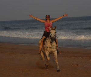 a fun horse ride